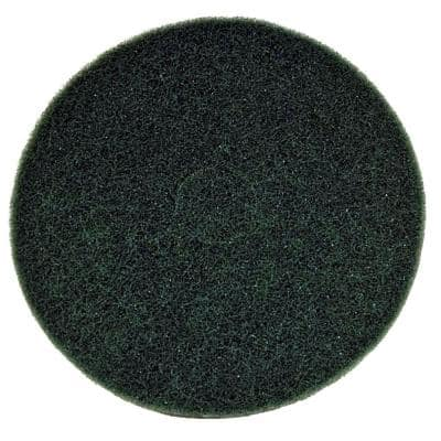 17 in. Non-Woven Green Buffer Pad