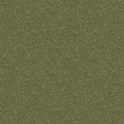 Watercolors I - Color Spearmint 15 ft. Texture Carpet