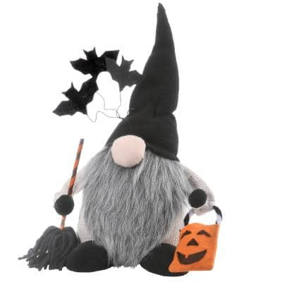 10 in. Halloween Gnome with Bats