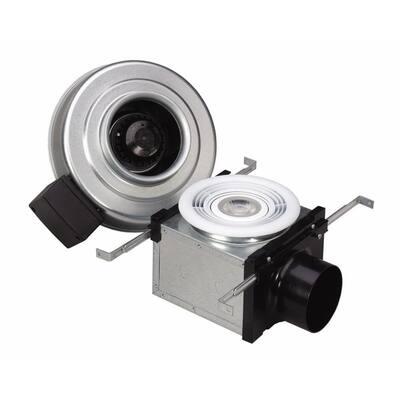Premium 110 CFM Ceiling Bathroom Exhaust Fan with Dimmable 7-Watt LED Light, Energy Star