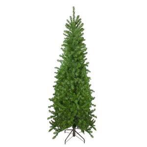7.5 ft. Unlit Canadian Pine Artificial Pencil Christmas Tree