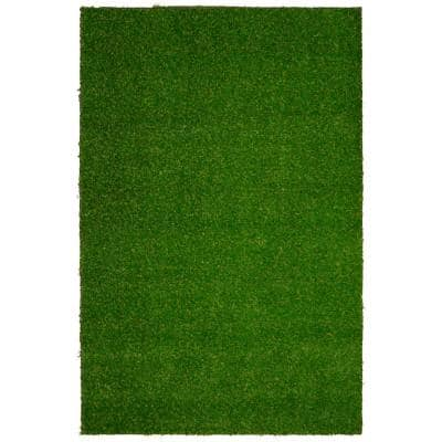 4 ft. x 6 ft. Indoor/Outdoor Greentic Artificial Grass Turf Puppy Pee Pad