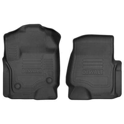 Front Floor Liners Fits 2017-2018 F250/F350 Crew/SuperCab