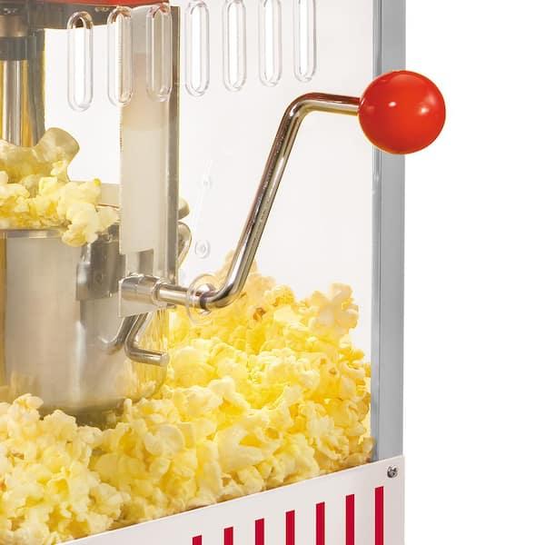 Nostalgia - Vintage Collection 2.5 oz. Red Kettle Countertop Popcorn Machine