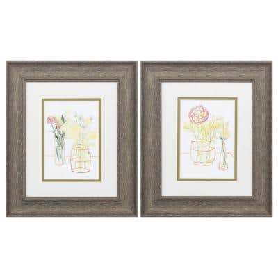 Victoria 8 in. x 10 in. Black Gallery Frame (Set of 4)