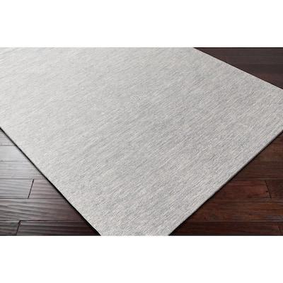 Forman Medium Gray 5 ft. x 8 ft. Indoor/Outdoor Area Rug
