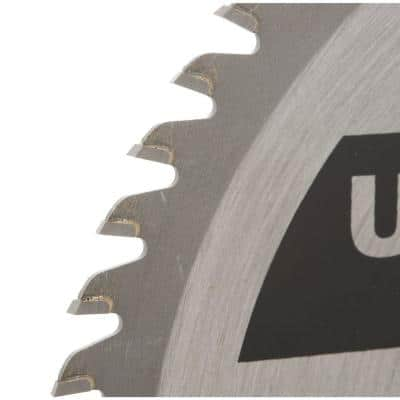 7-1/4 in. x 60-Tooth Fine Finish Circular Saw Blade (2-Pack)