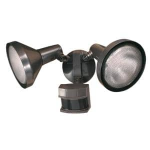 240° Bronze Motion Activated Outdoor Flood Light