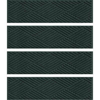 Aqua Shield Diamonds 8.5 in. x 30 in. Stair Treads Set/4