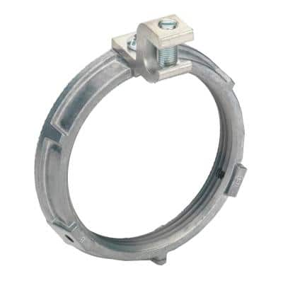 3-1/2 in. Mighty-Bond Grounding Locknuts with 6-3/0 AWG Grounding Lug (5-Pack)