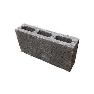 4 in. X 8 in. X 16 in. Concrete 3-Core Block