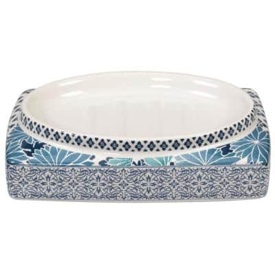 Ming Soap Dish in Blue