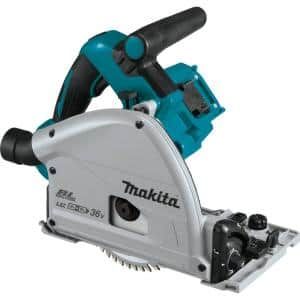 18-Volt X2 LXT Lithium-Ion (36-Volt) Brushless Cordless 6-1/2 in. Plunge Circular Saw (Tool Only) with 55T Carbide Blade