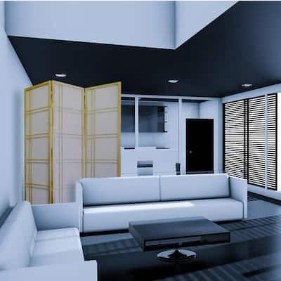 Girard Natural 3-Panel Room Divider