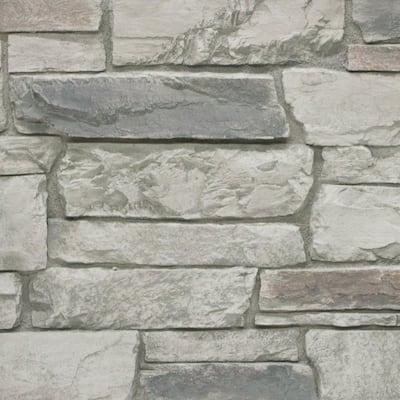 Ledgestone 11 in. x 11 in. Cascade Canyon Faux Stone Siding Sample