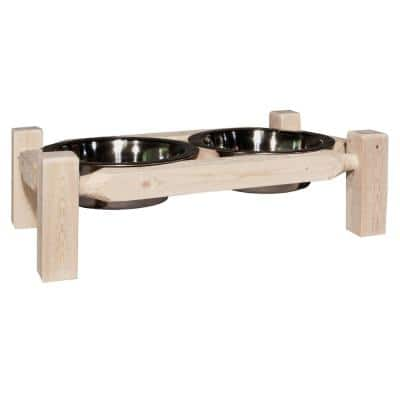 Homestead Collection Ready-to-Finish Large Pet Feeder