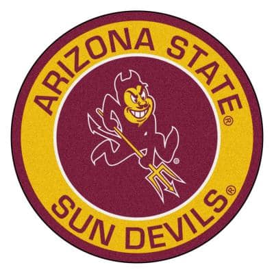 Arizona State University Sports Rugs Rugs The Home Depot