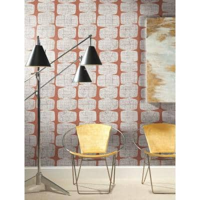 Mid-Century Beads Peel and Stick Wallpaper (Covers 28.29 sq. ft.)