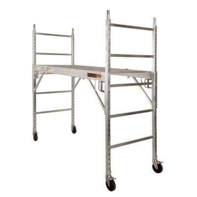 Job Site Series 6 ft. x 6 ft. 2.5 ft. Scaffold 700 lb. Load Capacity
