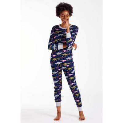 Family Snug-Fit Company Organic Cotton™ Women's Pajama Set in Dino