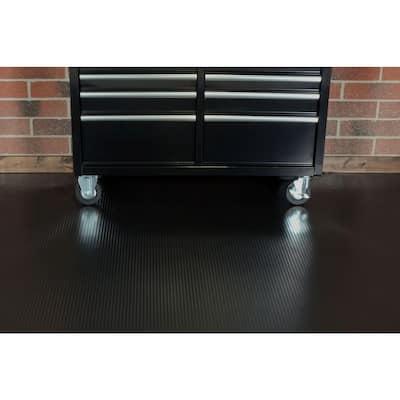 Channel 7.5 ft. x 17 ft. Black Universal Flooring
