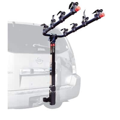 140 lbs. Capacity 4-Bike Vehicle 2 in. Hitch Bike Rack