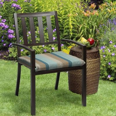 Oak Cliff 20 x 18 Sunbrella Gateway Mist Outdoor Chair Cushion (2-Pack)