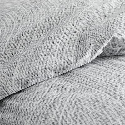 Legends Hotel Swirl Gray Sateen Comforter