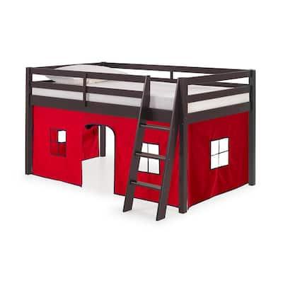 Roxy Espresso Junior Loft with Red Bottom Tent
