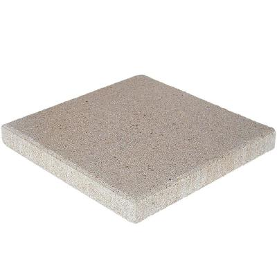16 in. x 16 in. x 1.75 in. Pewter Square Concrete Step Stone