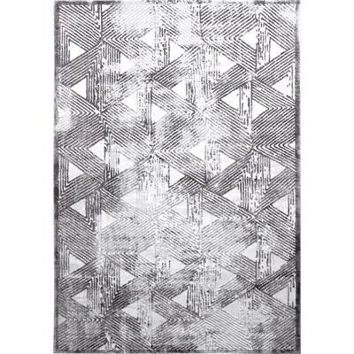Kenmare Gray 8 ft. x 10 ft. Indoor Area Rug