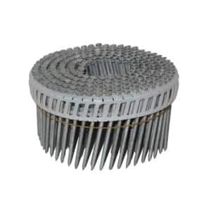 Angled Coil  DA-Style  1-1//2 in L Nails  500 pk Simpson Strong-Tie  15 Ga
