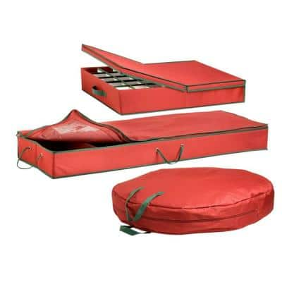 Combo Holiday Storage Organizer (3-Piece)