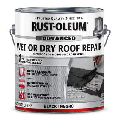 1 Gal. Wet or Dry Advanced Roofing Repair Adhesive (2-Pack)