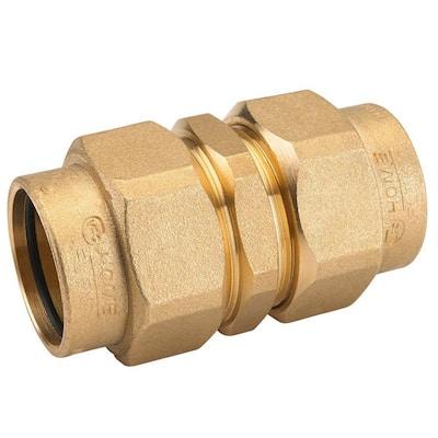 1 in. CSST x 1 in. CSST Brass Union