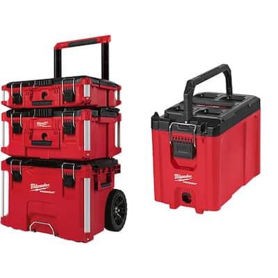 Milwaukee PACKOUT Modular Tool Box Storage System w/ Compact Tool Box