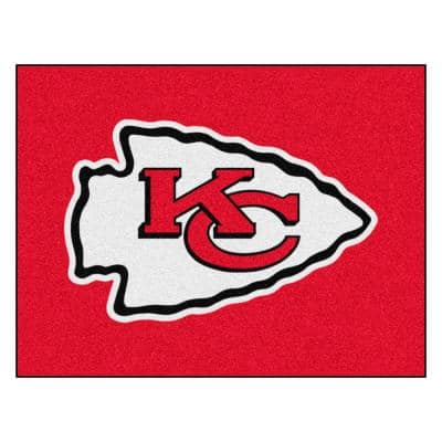 NFL - Kansas City Chiefs Rug - 34 in. x 42.5 in.