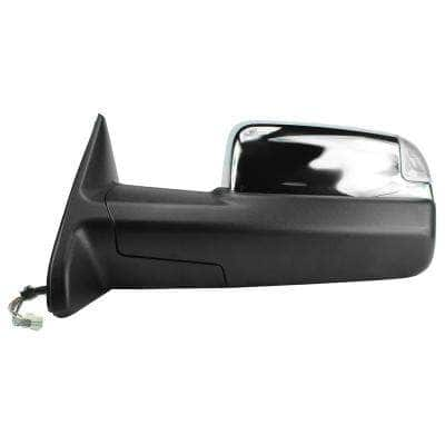 Towing Mirror for 09-12 Dodge Ram 1500 10-12 2500 10-11 3500 GPC with Signal and Puddle Folding LH Heated Power
