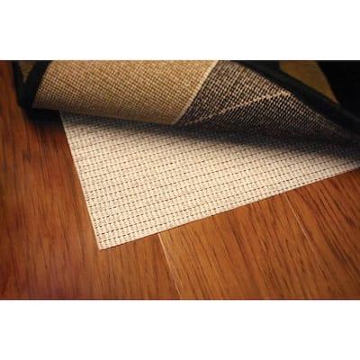 Non Slip Hard Surface Beige 3 ft. x 5 ft. Rug Pad