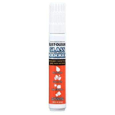 White Glass Marker (4-Pack)