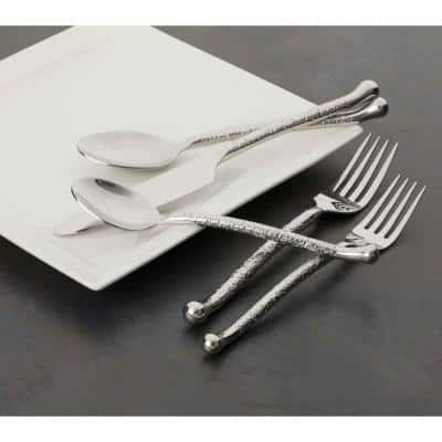 Utica Cutlery Company Nouveaux Hammered 20-Piece Set (Service for 4)