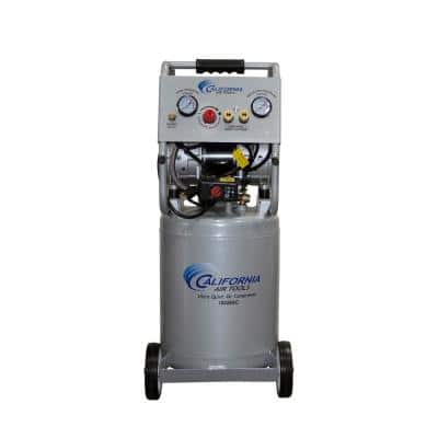 10 Gal. 2.0 HP Aluminum Rust-Free Air Tank Ultra-Quiet and Oil-Free Electric Air Compressor with Automatic Drain Valve