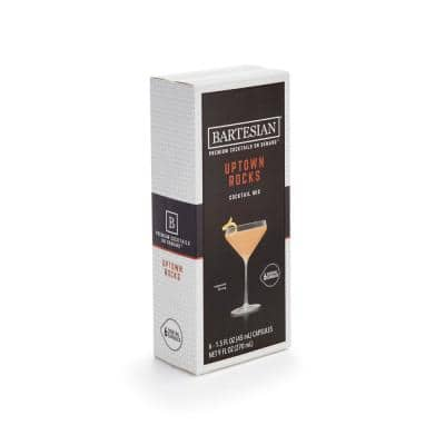 Uptown Rocks 6-piece Clear Plastic Cocktail Mix Capsules