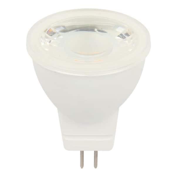 Westinghouse 25 Watt Equivalent Mr11 12 Volt Flood Led Light Bulb Bright White Light 4 Pack 3515220 The Home Depot