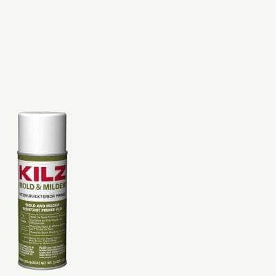 13 oz. Mold & Mildew White Oil-Based Interior and Exterior Primer, Sealer and Stain-Blocker Aerosol