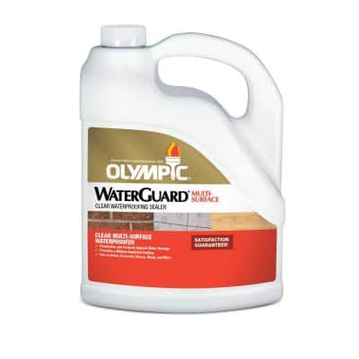 WaterGuard 1 gal. Clear Multi-Surface Exterior Wood Sealer