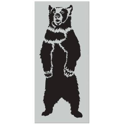 7 ft. Grizzly Bear Stencil
