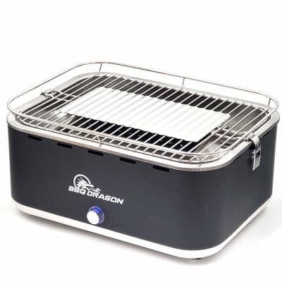 Beautifully Designed Powered Portable Zephyr Charcoal Grill