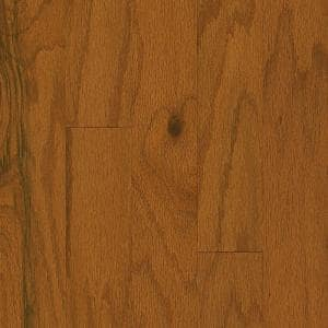 Plano Oak Gunstock 3/8 in. Thick x 5 in. Wide x Varying Length Engineered Hardwood Flooring (28 sq. ft./case)