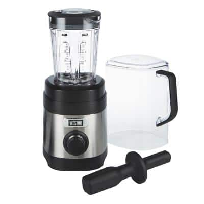 Pro Series 32 oz. 11-speed Stainless Steel Blender with Sound Shield